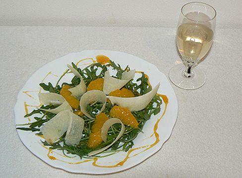 pecorino salát
