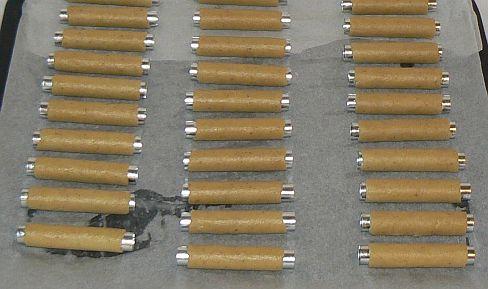 trubičky na plechu