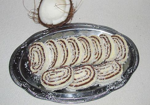 kokosová roláda